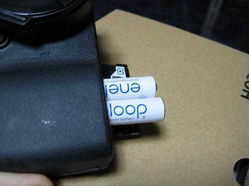 RICOH GX200 バッテリー