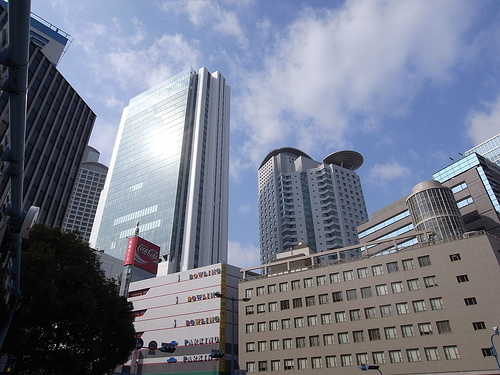 GX200で撮った大阪の街並