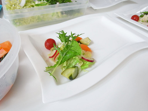GX200で撮ったサラダ