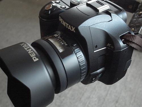 FA35mmF2ALをK-mに装着
