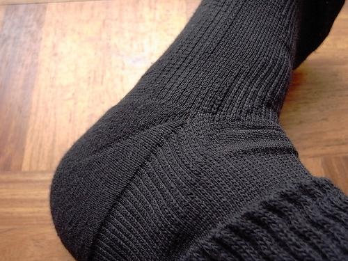 テーピング靴下