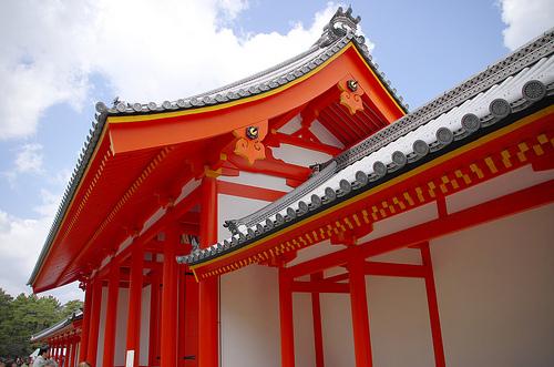 紫宸殿外壁