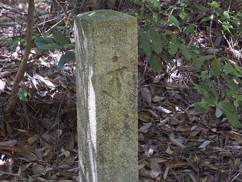 梵字の道標